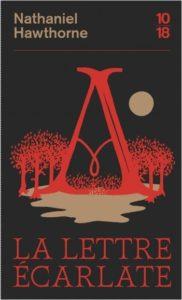 couverture du roman la lettre ecarlate de nathaniel hawthorne