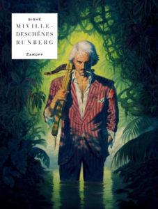 couverture de la bd zaroff de runberg