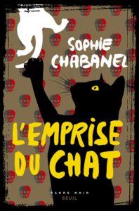 Couverture de L'emprise du chat de Sophie Chabanel