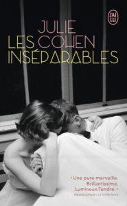 couverture du roman les inseparables de julie cohen