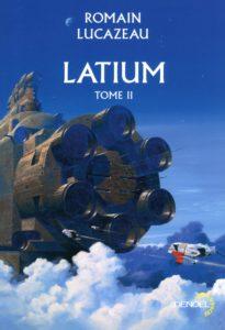 couverture du roman latium tome 2 de romain lacazeau