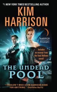 Couverture du tome 12 de Rachel Morgan, The Undead Pool de Kim Harrison