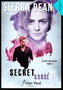 Couverture de Secret gardé, tome 4 de Secret McQueen de Sierra Dean