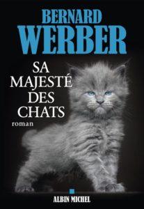 couverture du roman sa majeste des chats de bernard werber