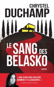 couverture du roman le sang des belasko de chrystel duchamp