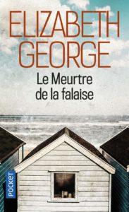 couverture du roman le meurtre de la falaise de elizabeth george