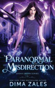 couverture du roman paranormal misdirection de dima zales