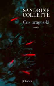 couverture du roman Ces orages-là de Sandrine Collette