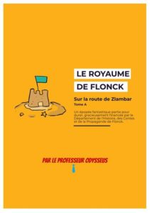 couverture du roman Sur la route de Zlambar du professeur Odysseus