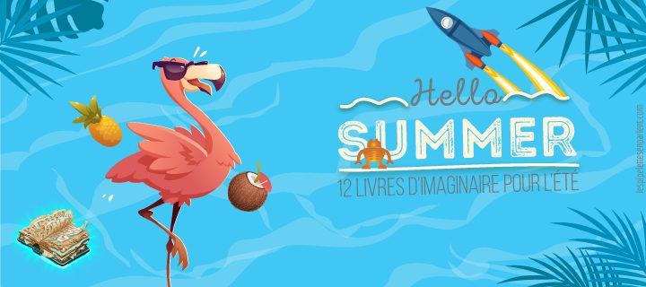 12 livres d'imaginaire pour l'été