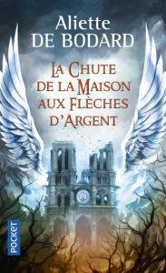 couverture poche du roman La chute de la maison aux flèches d'argent de Aliette de Bodard