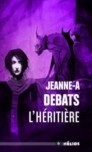 couverture poche du roman L'héritière de Jeanne-A Debats