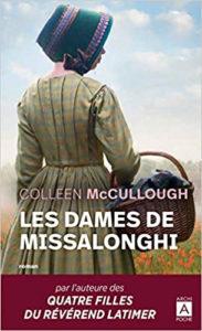 Couverture de Les dames de Missalonghi de Colleen McCullough
