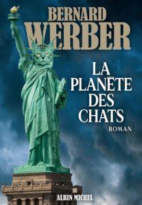 couverture du roman La planète des chats de Bernard Werber