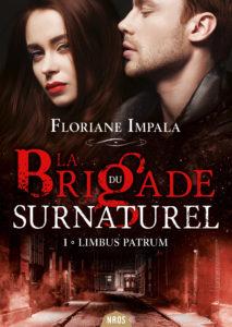 couvertture électronique du roman La brigade du surnaturel de Floriane Impala