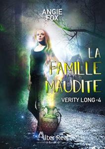 couverture du roman La famille maudite de Angie Fox