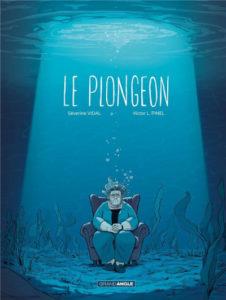 Couverture de Le plongeon de Sévérine Vidal et Victor L. Pinel