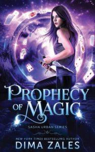 couverture du roman Prophecy of magic de Dima Zales