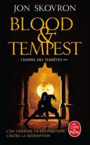 couverture du roman Blood & tempest de Jon Skovron